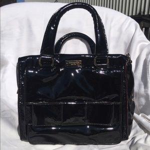 Kate Spade Black Bow Box Handbag